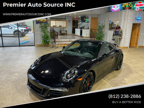 2016 Porsche 911 for sale at Premier Auto Source INC in Terre Haute IN