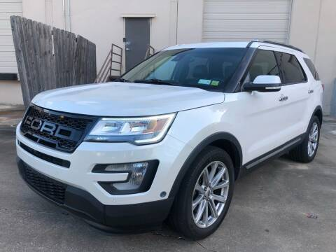 2018 Ford Explorer for sale at The Auto & Marine Gallery of Houston in Houston TX