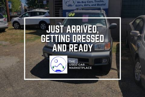 2004 Nissan Pathfinder for sale at The Used Car MarketPlace in Newberg OR