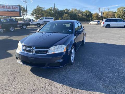 2013 Dodge Avenger for sale at Bam Auto Sales in Azle TX