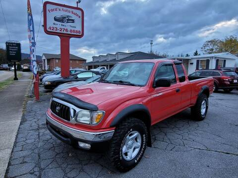 2004 Toyota Tacoma for sale at Ford's Auto Sales in Kingsport TN