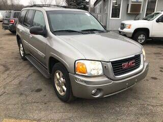 2002 GMC Envoy for sale at WELLER BUDGET LOT in Grand Rapids MI