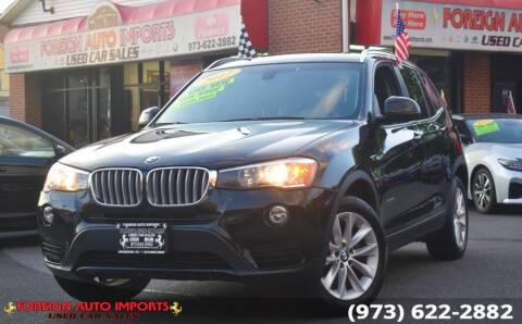 2017 BMW X3 for sale at www.onlycarsnj.net in Irvington NJ