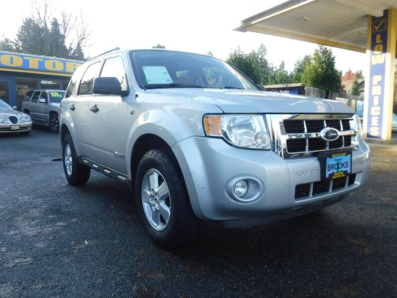 2008 Ford Escape for sale at Brooks Motor Company, Inc in Milwaukie OR