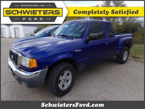 2004 Ford Ranger for sale at Schwieters Ford of Montevideo in Montevideo MN