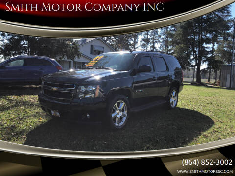 2009 Chevrolet Tahoe for sale at Smith Motor Company INC in Mc Cormick SC