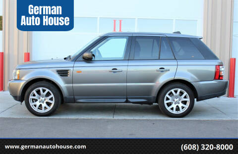 2008 Land Rover Range Rover Sport for sale at German Auto House in Fitchburg WI