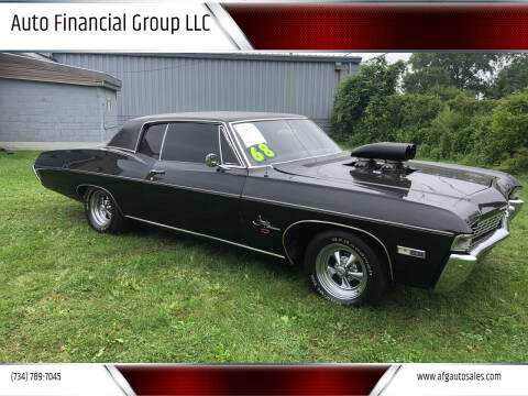 1968 Chevrolet Impala for sale at Auto Financial Group LLC in Flat Rock MI