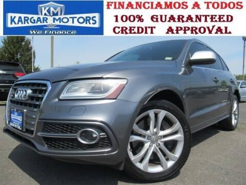 2014 Audi SQ5 for sale at Kargar Motors of Manassas in Manassas VA