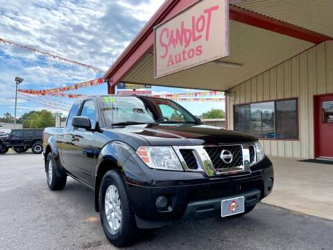 2017 Nissan Frontier for sale at Sandlot Autos in Tyler TX