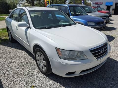 2009 Hyundai Sonata for sale at AUTO PROS SALES AND SERVICE in Belleville IL