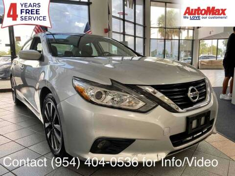 2017 Nissan Altima for sale at Auto Max in Hollywood FL