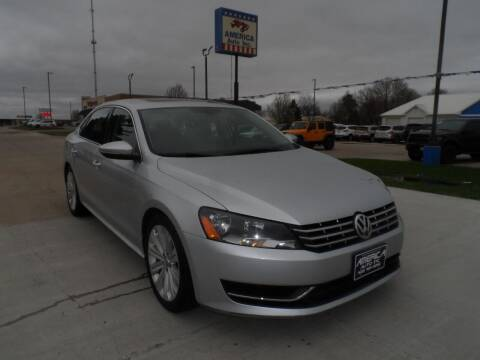 2012 Volkswagen Passat for sale at America Auto Inc in South Sioux City NE