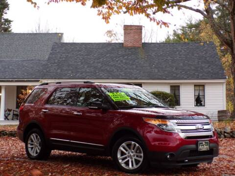 2015 Ford Explorer for sale at The Auto Barn in Berwick ME