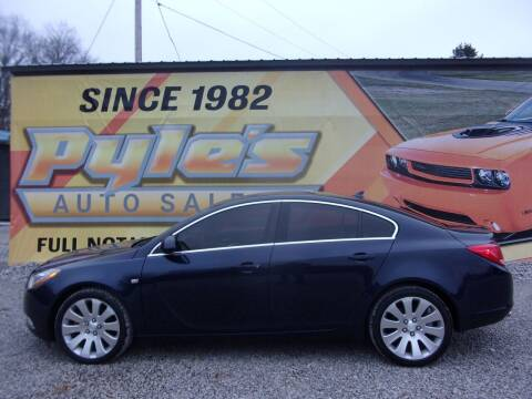 2011 Buick Regal for sale at Pyles Auto Sales in Kittanning PA