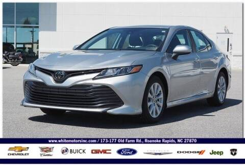 2020 Toyota Camry for sale at WHITE MOTORS INC in Roanoke Rapids NC