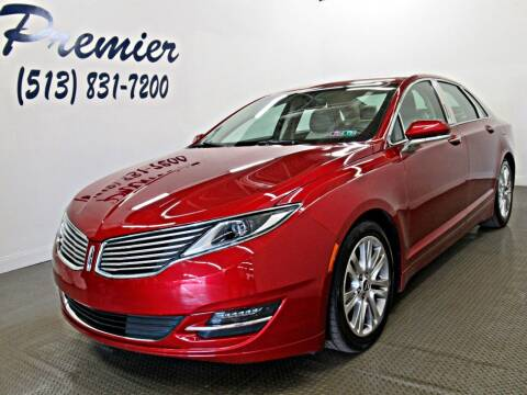 2016 Lincoln MKZ for sale at Premier Automotive Group in Milford OH