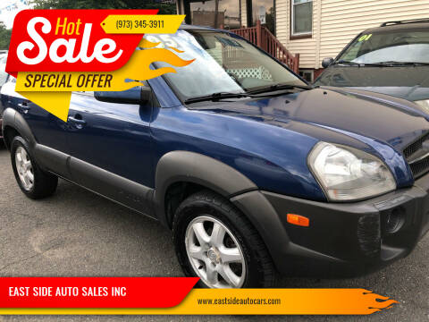 2005 Hyundai Tucson for sale at EAST SIDE AUTO SALES INC in Paterson NJ