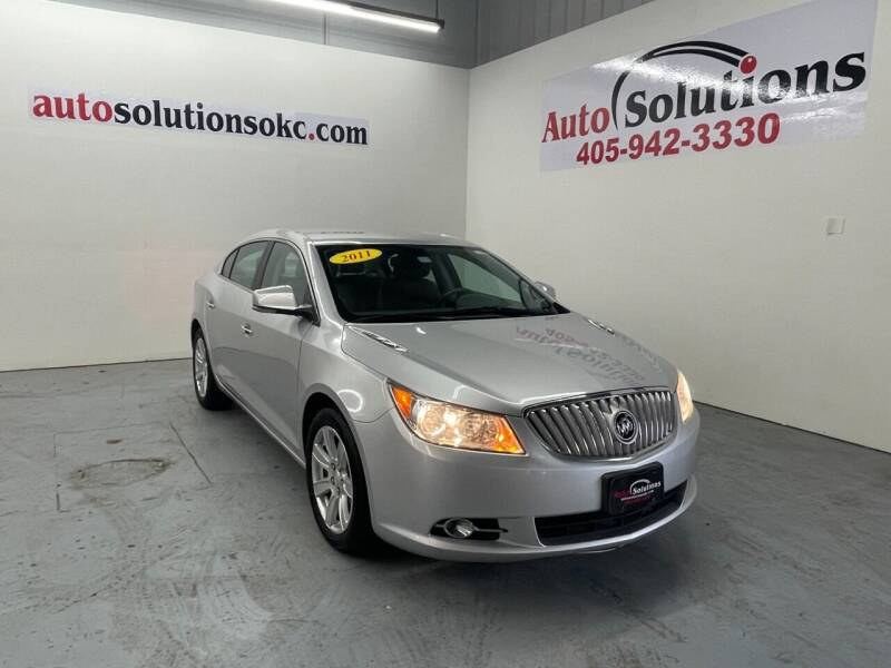 2011 Buick LaCrosse for sale at Auto Solutions in Warr Acres OK