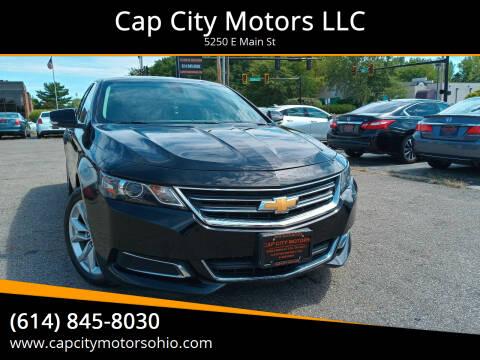 2017 Chevrolet Impala for sale at Cap City Motors LLC in Columbus OH