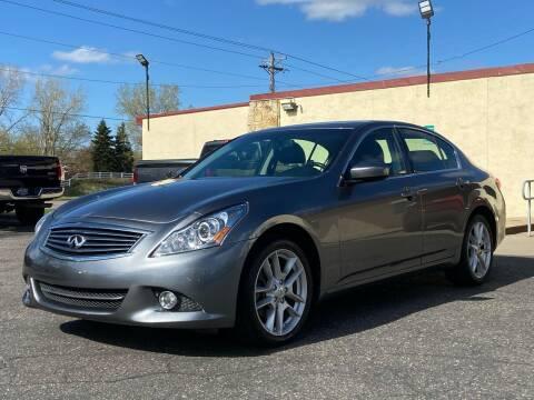 2013 Infiniti G37 Sedan for sale at North Imports LLC in Burnsville MN
