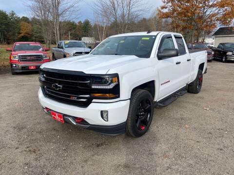 2018 Chevrolet Silverado 1500 for sale at AutoMile Motors in Saco ME