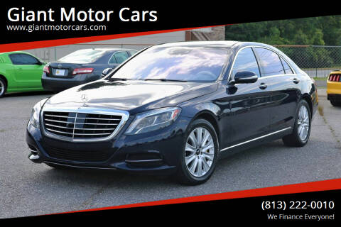 2015 Mercedes-Benz S-Class for sale at Giant Motor Cars in Tampa FL