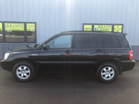 2003 Toyota Highlander for sale at Krantz Motor City in Watertown SD