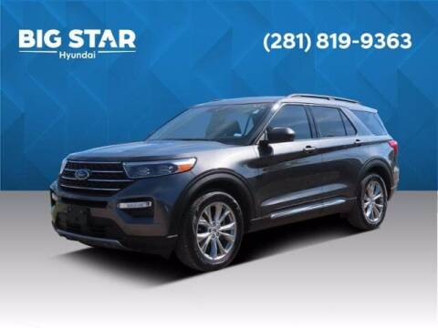 2020 Ford Explorer for sale at BIG STAR HYUNDAI in Houston TX