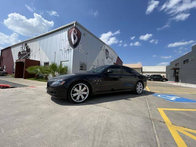 2012 Maserati Quattroporte for sale at Barrett Auto Gallery in San Juan TX