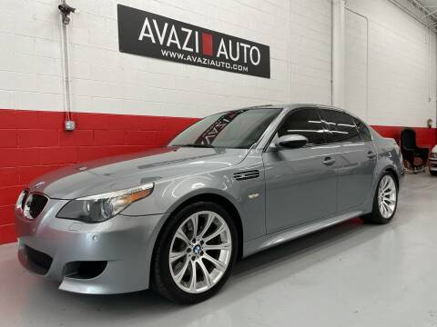 2006 BMW M5 for sale at AVAZI AUTO GROUP LLC in Gaithersburg MD
