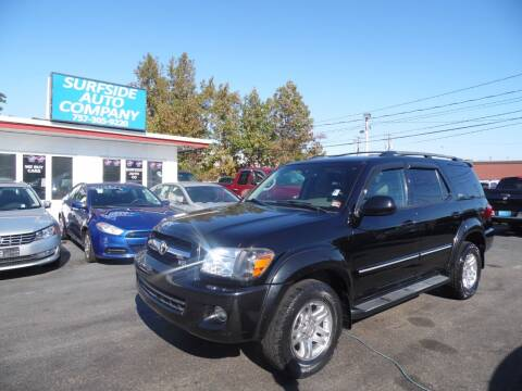 2005 Toyota Sequoia for sale at Surfside Auto Company in Norfolk VA