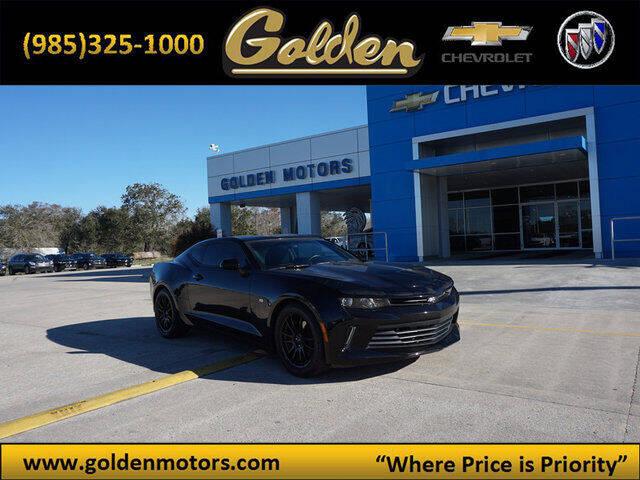 2017 Chevrolet Camaro for sale at GOLDEN MOTORS in Cut Off LA