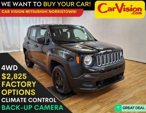 2018 Jeep Renegade for sale at Car Vision Mitsubishi Norristown in Trooper PA