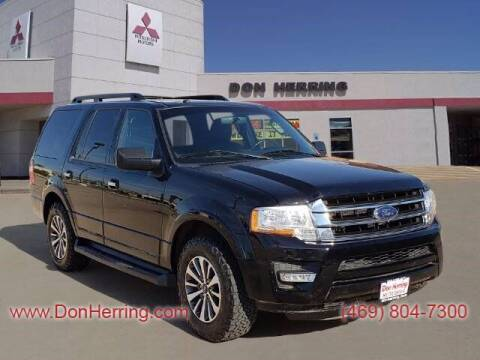 2017 Ford Expedition for sale at DON HERRING MITSUBISHI in Irving TX