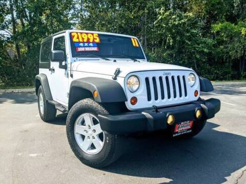 2011 Jeep Wrangler for sale at Bargain Auto Sales LLC in Garden City ID