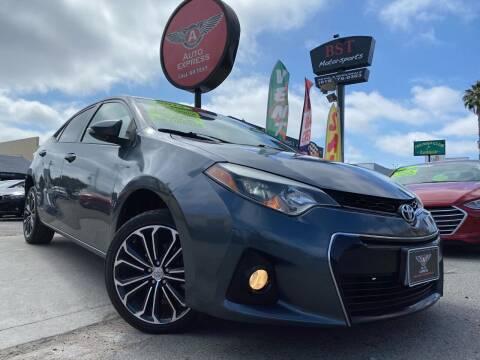 2014 Toyota Corolla for sale at Auto Express in Chula Vista CA