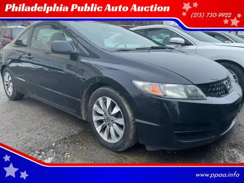 2010 Honda Civic for sale at Philadelphia Public Auto Auction in Philadelphia PA