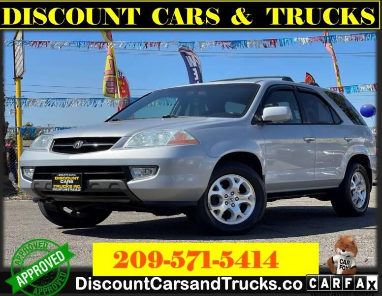 2002 Acura MDX for sale at Discount Cars & Trucks in Modesto CA