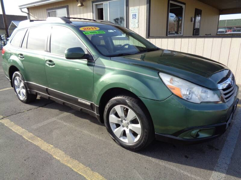2011 Subaru Outback for sale at BBL Auto Sales in Yakima WA