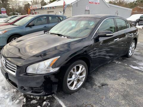 2012 Nissan Maxima for sale at Mike's Auto Sales in Westport MA