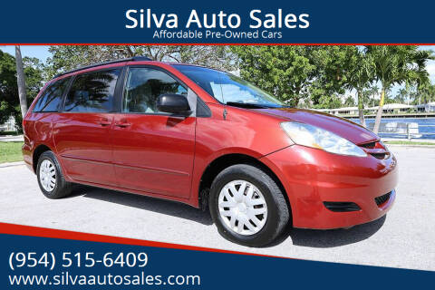 2010 Toyota Sienna for sale at Silva Auto Sales in Pompano Beach FL