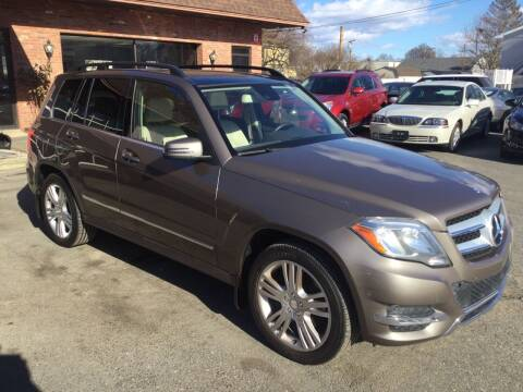 2013 Mercedes-Benz GLK for sale at Pat's Auto Sales, Inc. in West Springfield MA
