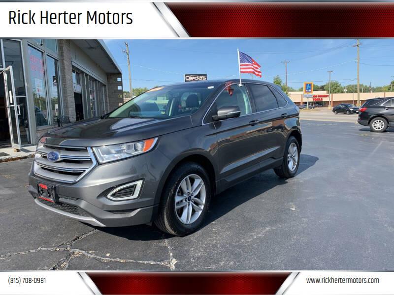 2018 Ford Edge for sale at Rick Herter Motors in Loves Park IL