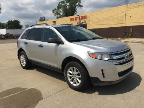 2013 Ford Edge for sale at City Auto Sales in Roseville MI