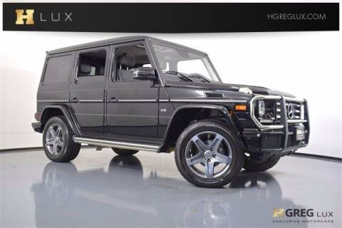 2018 Mercedes-Benz G-Class for sale at HGREG LUX EXCLUSIVE MOTORCARS in Pompano Beach FL