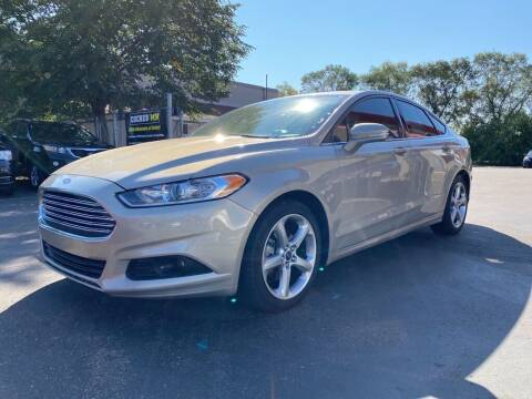 2015 Ford Fusion for sale at MIDWEST CAR SEARCH in Fridley MN