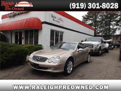 2003 Mercedes-Benz SL-Class for sale at Raleigh Pre-Owned in Raleigh NC