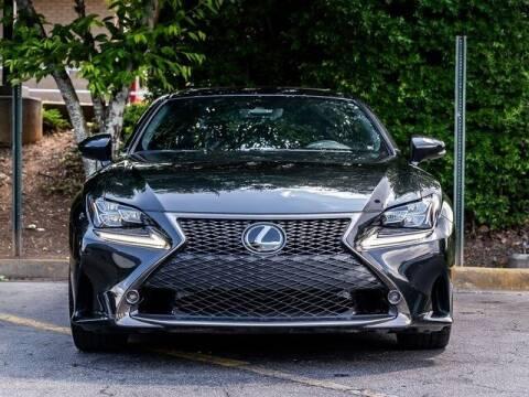 2018 Lexus RC 350 for sale at Gravity Autos Atlanta in Atlanta GA