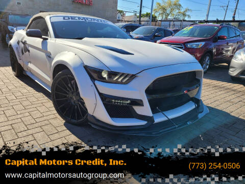 2016 Ford Mustang for sale at Capital Motors Credit, Inc. in Chicago IL